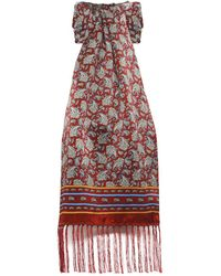 Tootal - Mixed Paisley Silk Scarf - Lyst