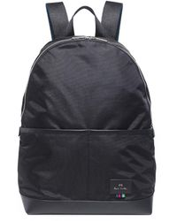 PS by Paul Smith - Cycle Stripe Webbing Backpack - Lyst