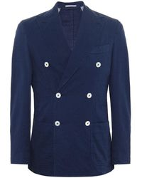 Stenstroms - Cotton Double Breasted Jacket - Lyst