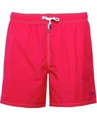 Hackett - Solid Volley Swim Shorts - Lyst