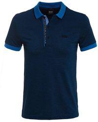 BOSS Green - Slim Fit Paule 4 Polo Shirt - Lyst