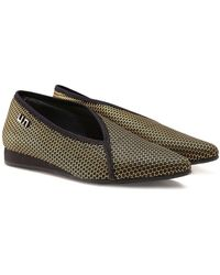 United Nude - Fold Light Low Python Shoes - Lyst