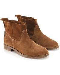 H by Hudson | Suede Odina Ankle Boots | Lyst
