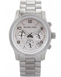 MICHAEL Michael Kors - Silver Chronograph Michael Kors Watch Mk5076 - Lyst