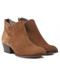 H by Hudson | Suede Apisi Western Boots | Lyst