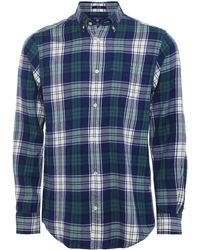 GANT - Regular Fit Flannel Plaid Check Shirt - Lyst