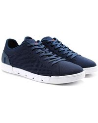 Swims - Breeze Tennis Knit Trainers - Lyst