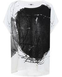 Moyuru - Oversized Printed T-shirt - Lyst