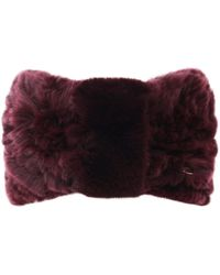 Yves Salomon - Knitted Fur Headband - Lyst