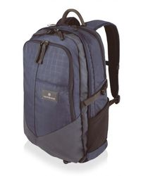 Victorinox - Navy Deluxe Laptop Backpack - Lyst