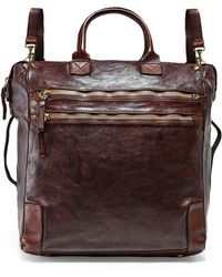 Campomaggi - Leather Shopper Backpack - Lyst