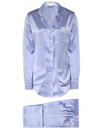 Olivia Von Halle - Coco Luna Classic Silk Pyjama Set - Lyst
