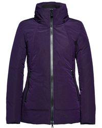 Creenstone - Funnel Neck Concealed Hood Coat - Lyst