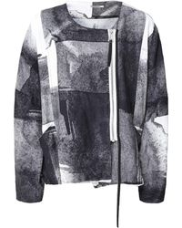 Crea Concept - Three Quarter Sleeve Zip Jacket - Lyst
