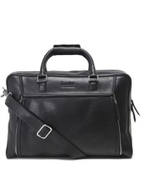 Lyst - The Bridge Marcopolo Viaggio Marrone Leather Travel Bag in ... 5c8b061320b9a