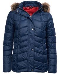 Barbour - Bernera Quilted Womens Jacket - Lyst