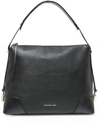 MICHAEL Michael Kors - Leather Crosby Large Shoulder Bag - Lyst