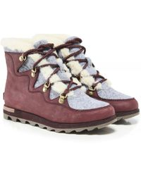 Sorel - Sneakchic Alpine Holiday Boots - Lyst