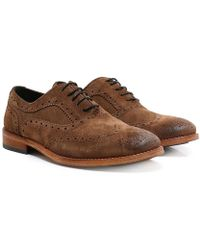 Barbour - Beale Oxford Brogues - Lyst