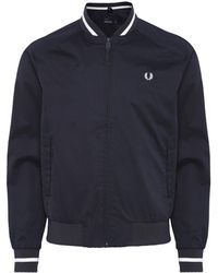 Fred Perry - Tennis Bomber Jacket J5521 608 - Lyst