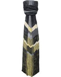 Crea Concept - Chevron Striped Scarf - Lyst