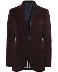 Hackett - Shaved Velvet Jacket - Lyst