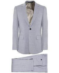 54c866f93da Paul Smith Ps Wool Check Tailored Fit Suit Jacket in Blue for Men - Lyst