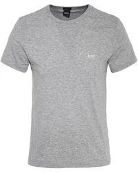 BOSS Green - Regular Fit Tee T-shirt - Lyst