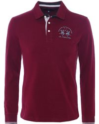 La Martina - Long Sleeve Arnulfo Polo Shirt - Lyst