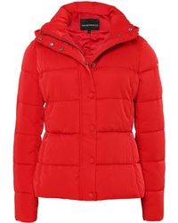 Armani - Short Down Jacket - Lyst