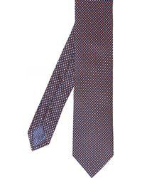 Eton of Sweden - Silk Geometric Tie - Lyst