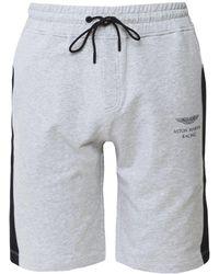 Hackett - Jersey Cotton Shorts - Lyst