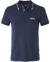 BOSS Green - Regular Fit Paddy Pro Polo Shirt - Lyst