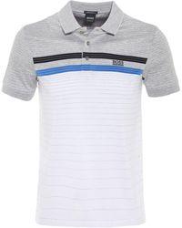 BOSS Green - Regular Fit Mercerised Cotton Paddy 3 Polo Shirt - Lyst