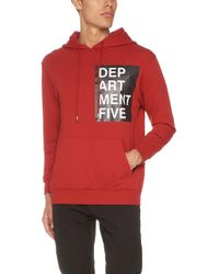Department 5 - Loose Fitted Hoodie - Lyst