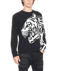 Valentino - Tiger Intarsia Sweater - Lyst