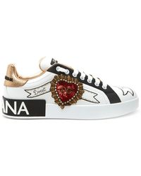 Dolce & Gabbana - 'portofino' Sneakers - Lyst