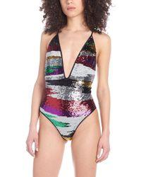 Missoni - Sequins Swimsuit - Lyst