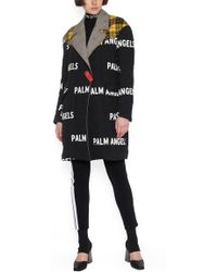 Palm Angels - All Over Logo Coat - Lyst