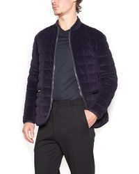 Giorgio Armani - Quilted Jacket - Lyst