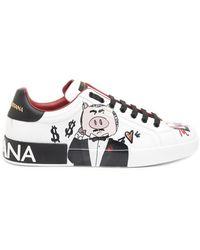 Dolce & Gabbana - Sneaker 'portofino' - Lyst