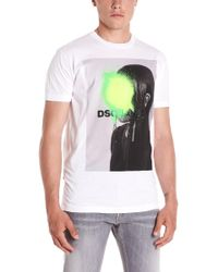DSquared² - Graphic Print T-shirt - Lyst