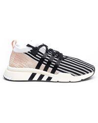 adidas Originals - Sneaker 'eqt support mid adv primeknit' - Lyst