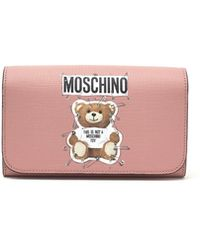 Moschino - 'teddy Pin' Wallet - Lyst