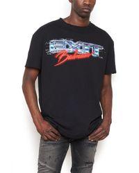 Balmain - Oversized Printed T-shirt - Lyst