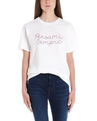 Giada Benincasa - T-shirt 'Pensami sempre' - Lyst