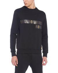 Billionaire - 'roy' Sweatshirt - Lyst