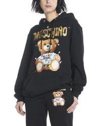 Moschino - 'teddy' Hoodie - Lyst