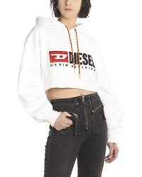DIESEL - Vintage Logo Hoodie - Lyst