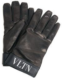 Valentino - 'vlnt' Gloves - Lyst